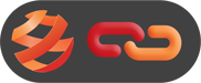 OSV logo with red and orange link on dark grey button